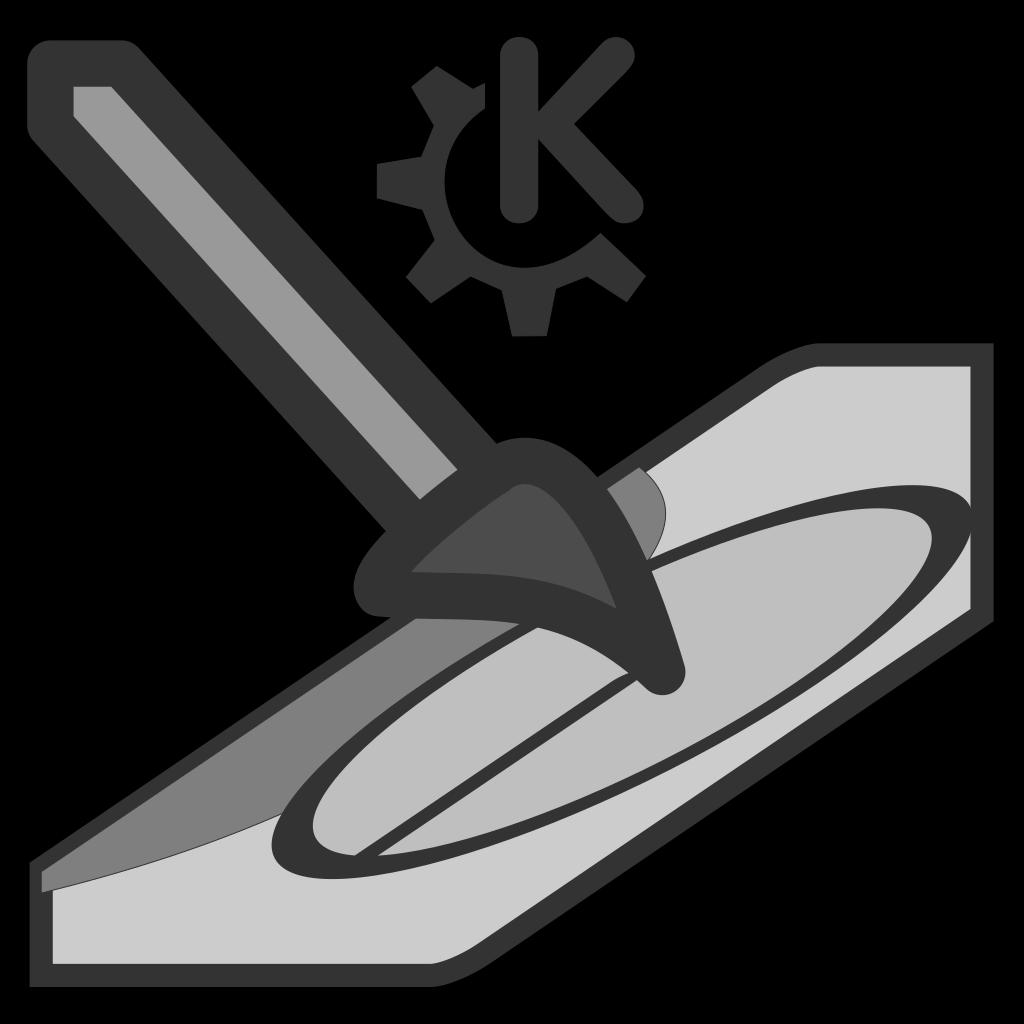 Krita Symbol SVG Clip arts