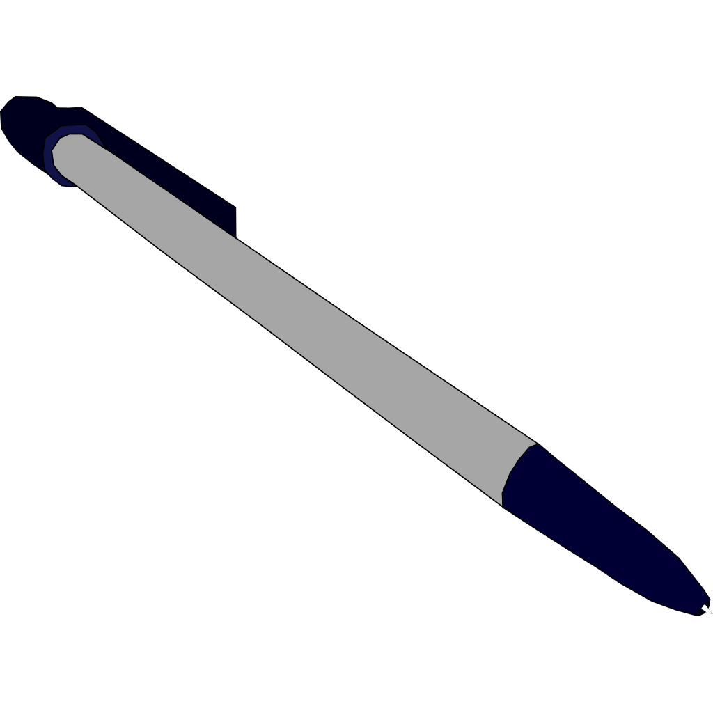 Basic Pen SVG Clip arts