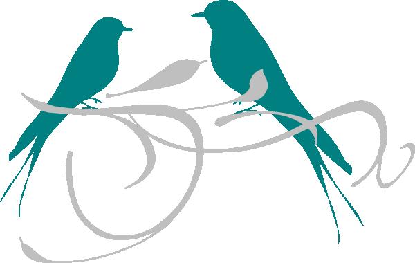 Love Birds SVG Clip arts