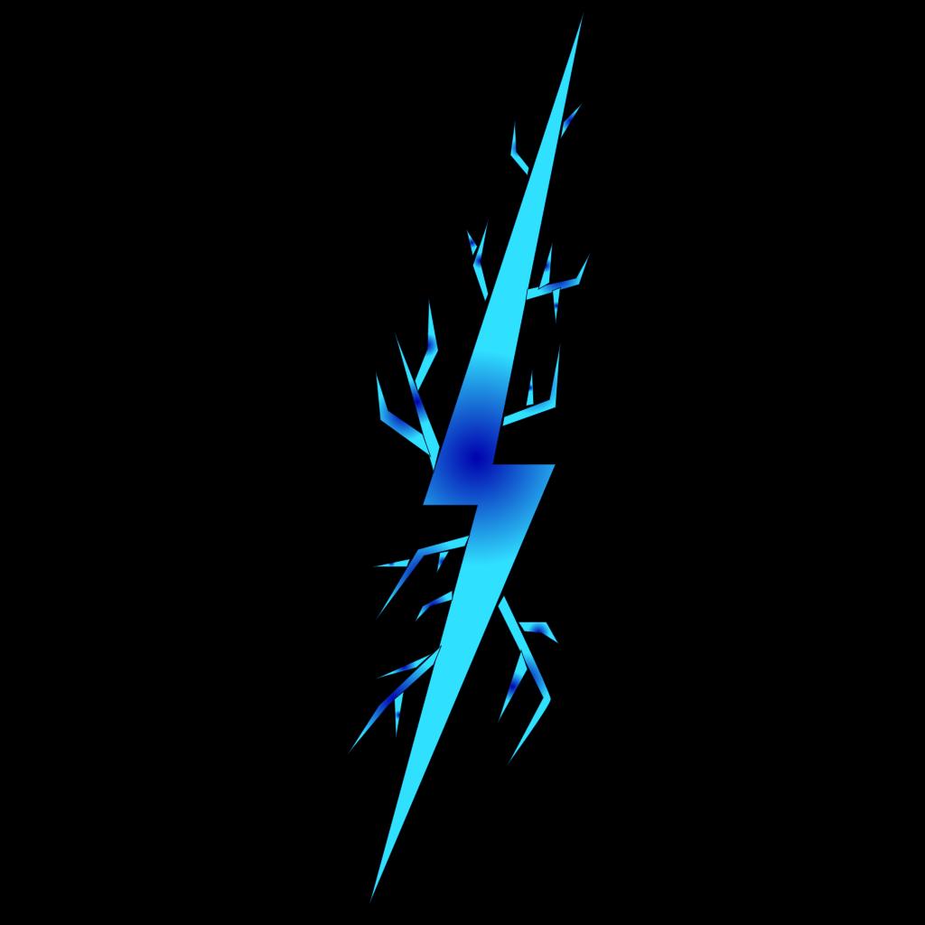 Electric Spark Symbol SVG Clip arts