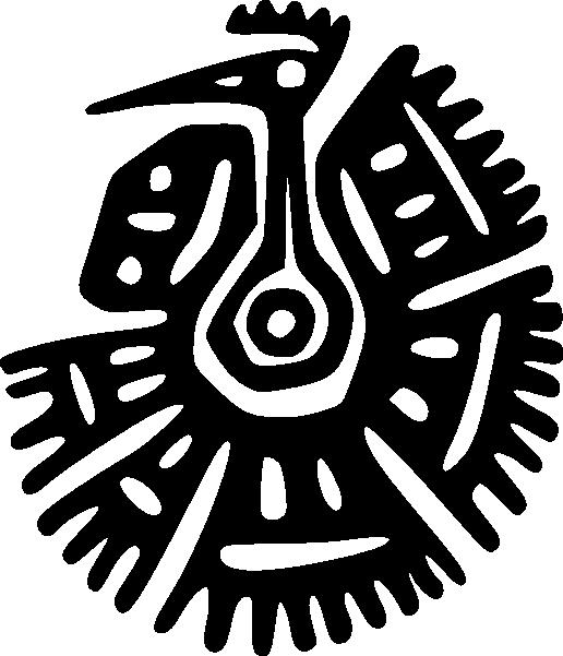 Ancient Mexico Motif SVG Clip arts