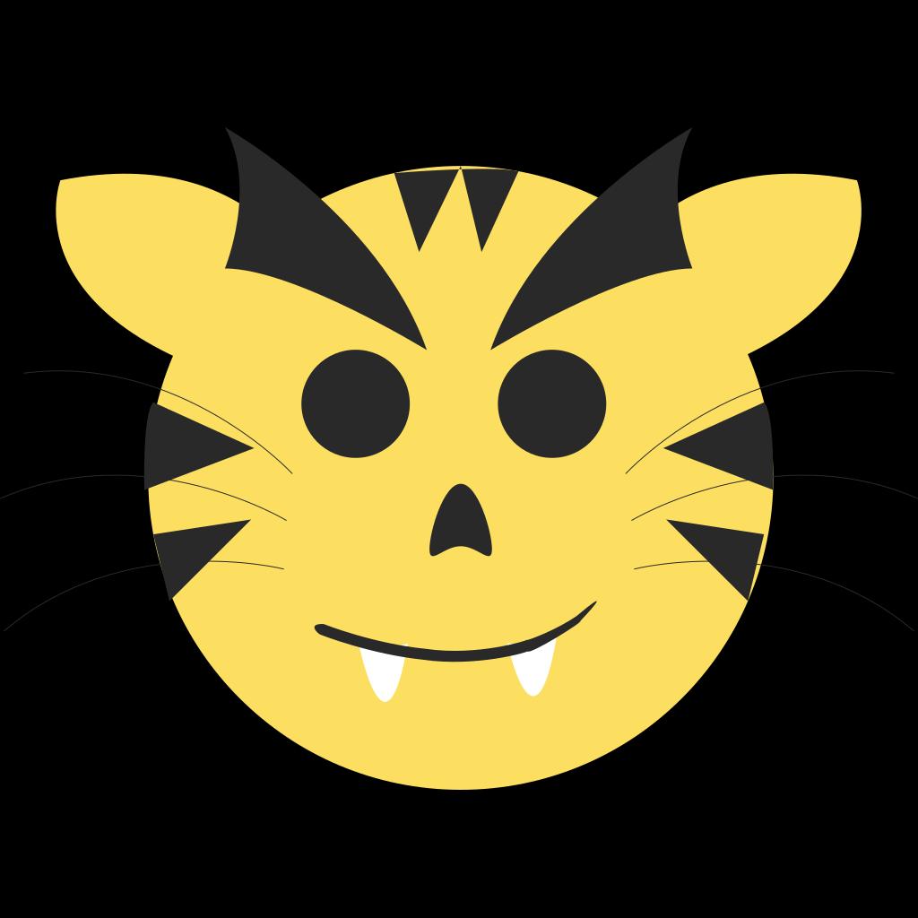 Cartoon Tiger PNG, SVG Clip art for Web - Download Clip ...