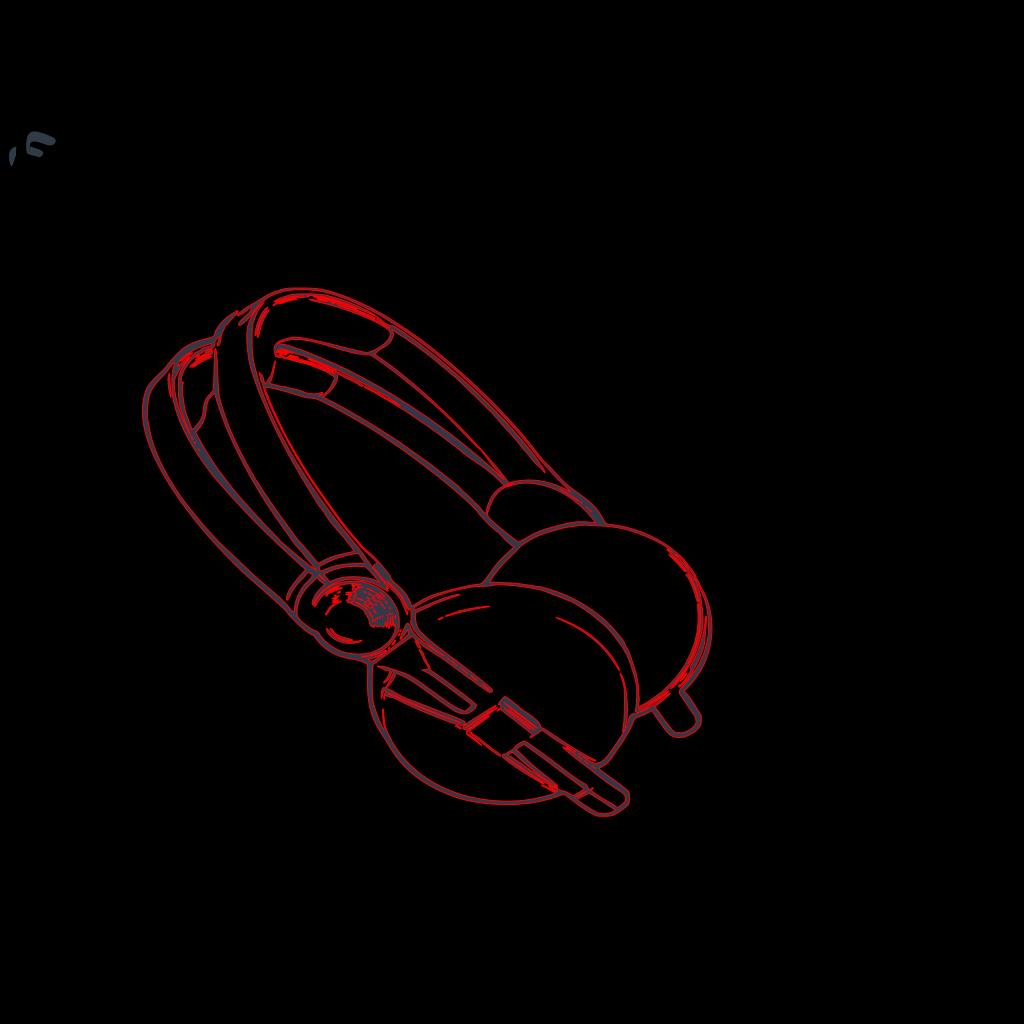 Boy With Headphones 2 SVG Clip arts