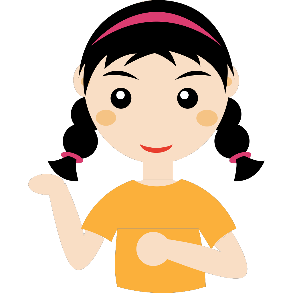 Girl Cartoon Clip art (PNG and SVG)