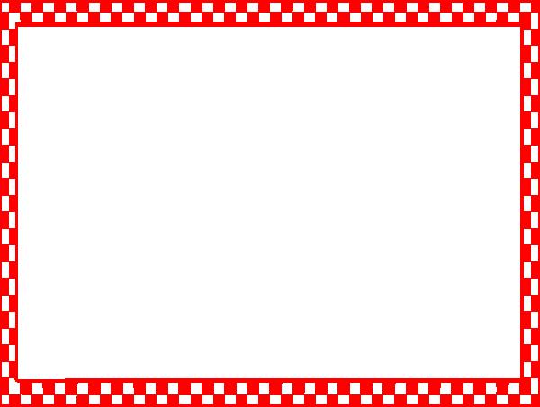 Checkerboard Border SVG Clip arts