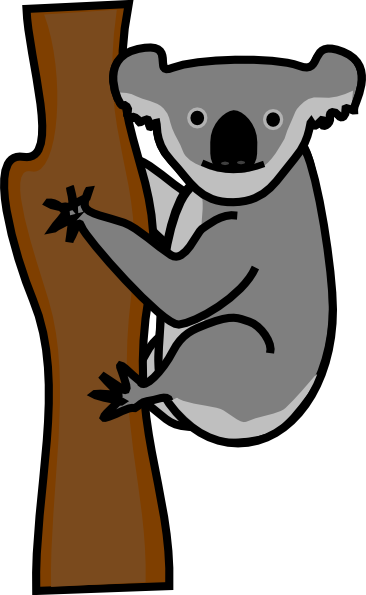 Koala Art And Design : Koala design png svg clip art for web download
