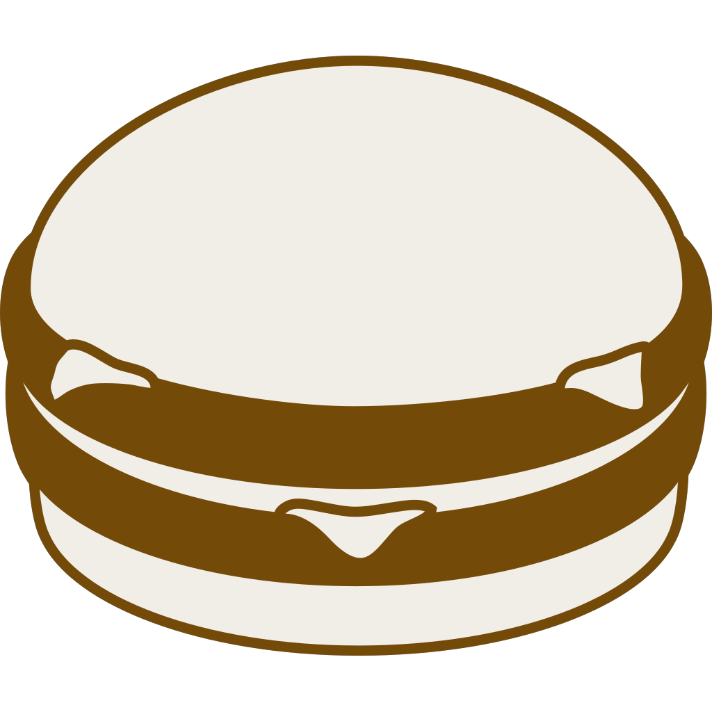 Hamburger SVG Clip arts