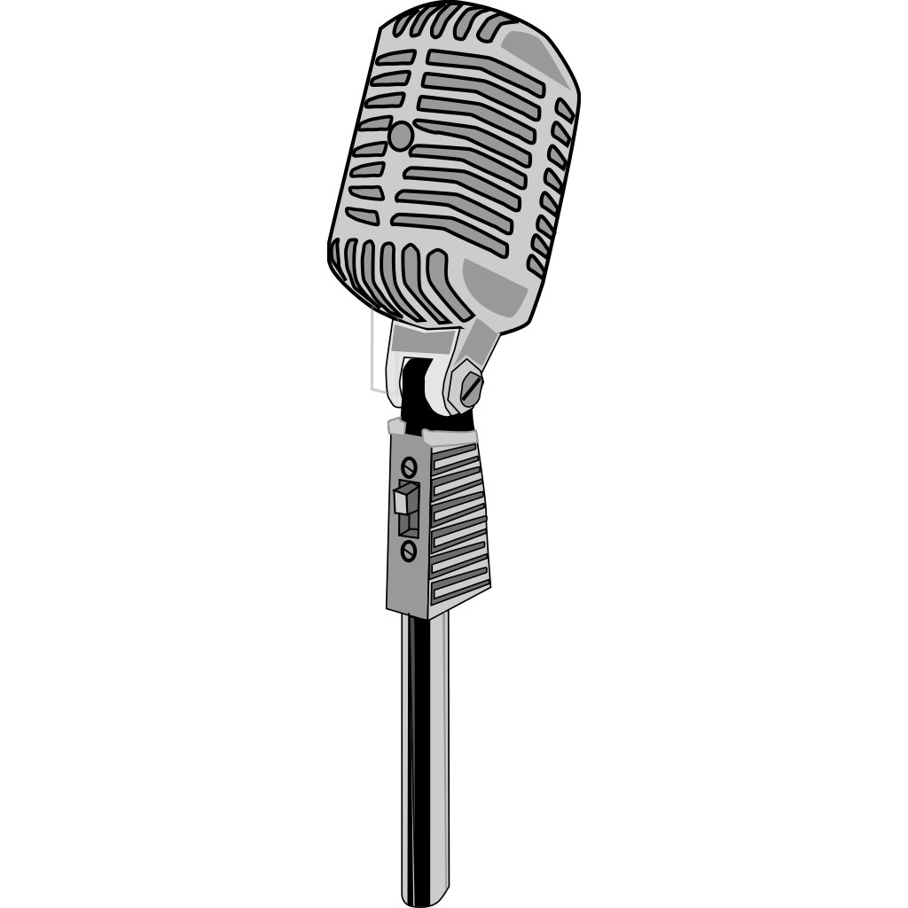 Microphone Icon svg