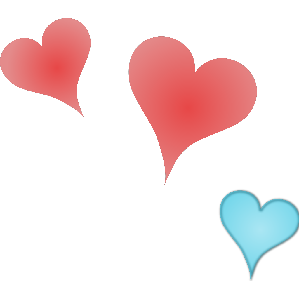 Three Hearts svg