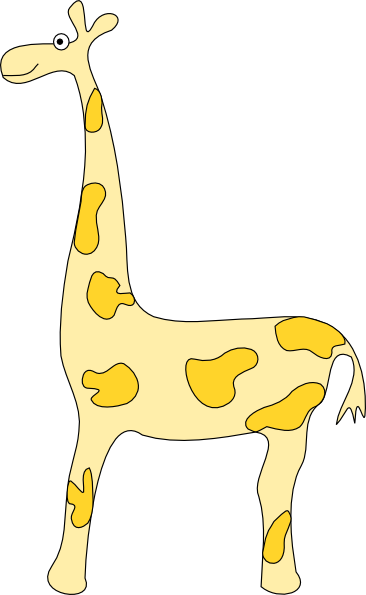 Giraffe SVG Clip arts