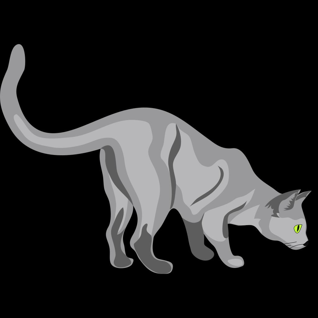 Gatto Cat 2 SVG Clip arts