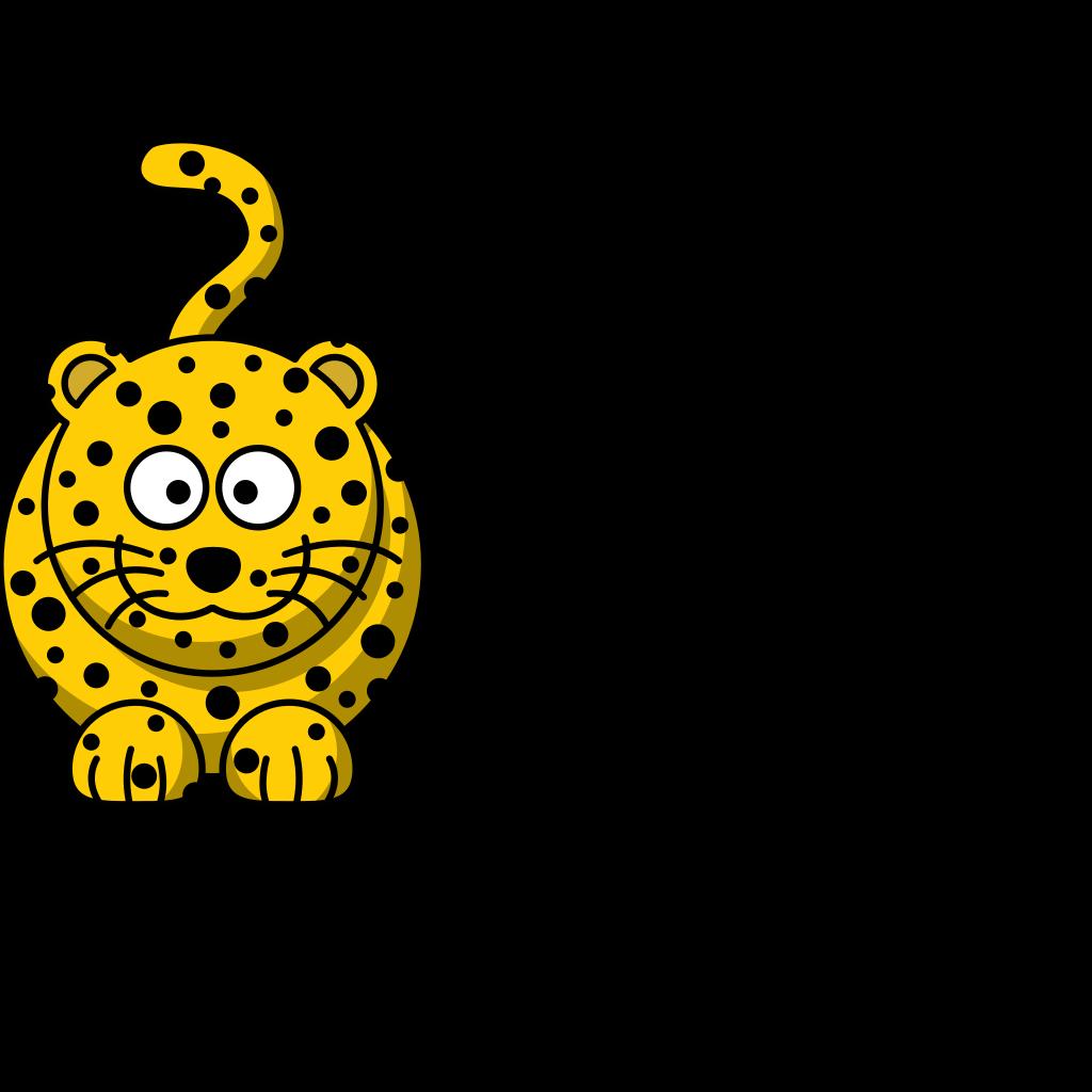 Leopard Clip Art SVG Clip arts