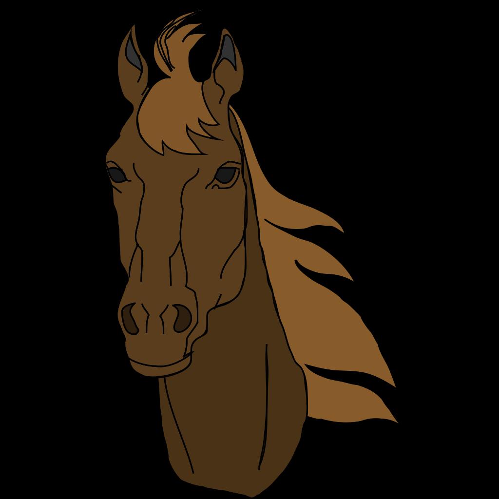 Horse Head SVG Clip arts