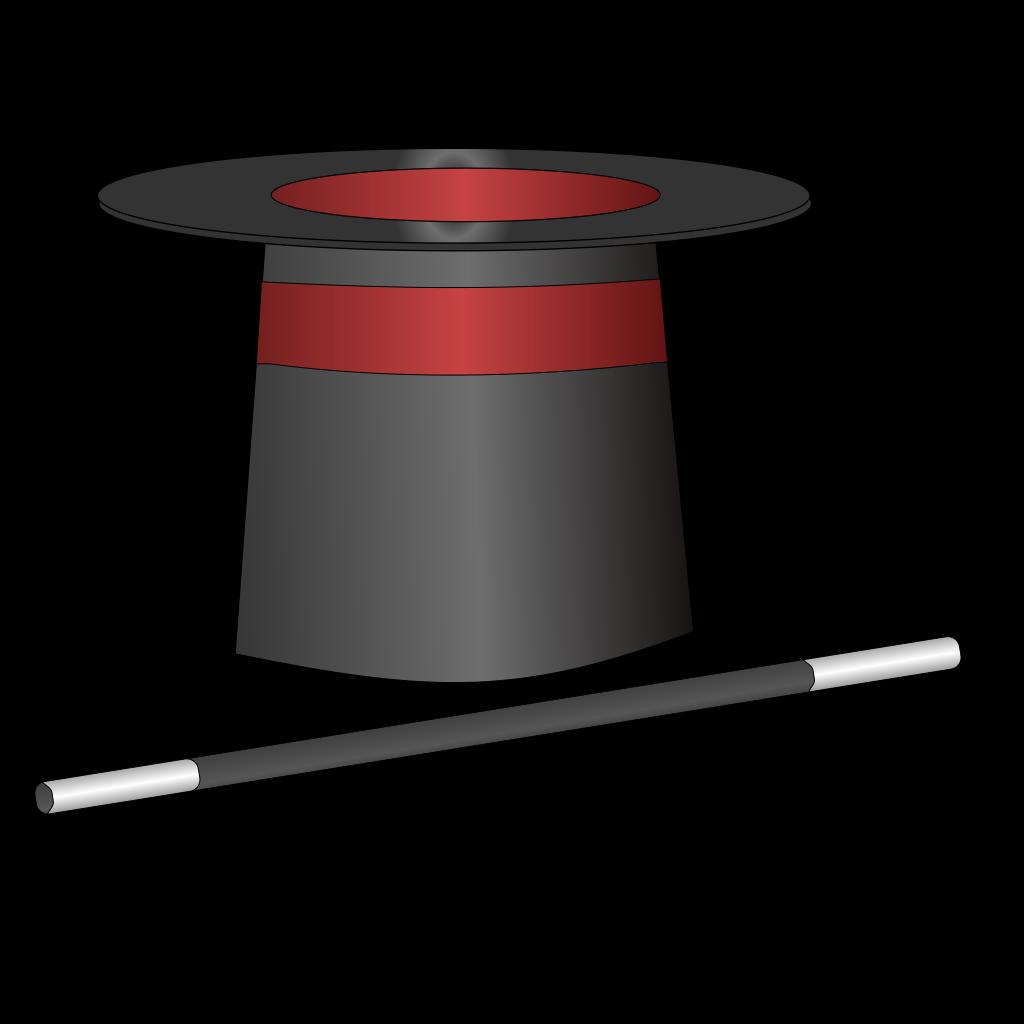 Magic Top Hat Jh PNG, SVG Clip art for Web - Download Clip ...