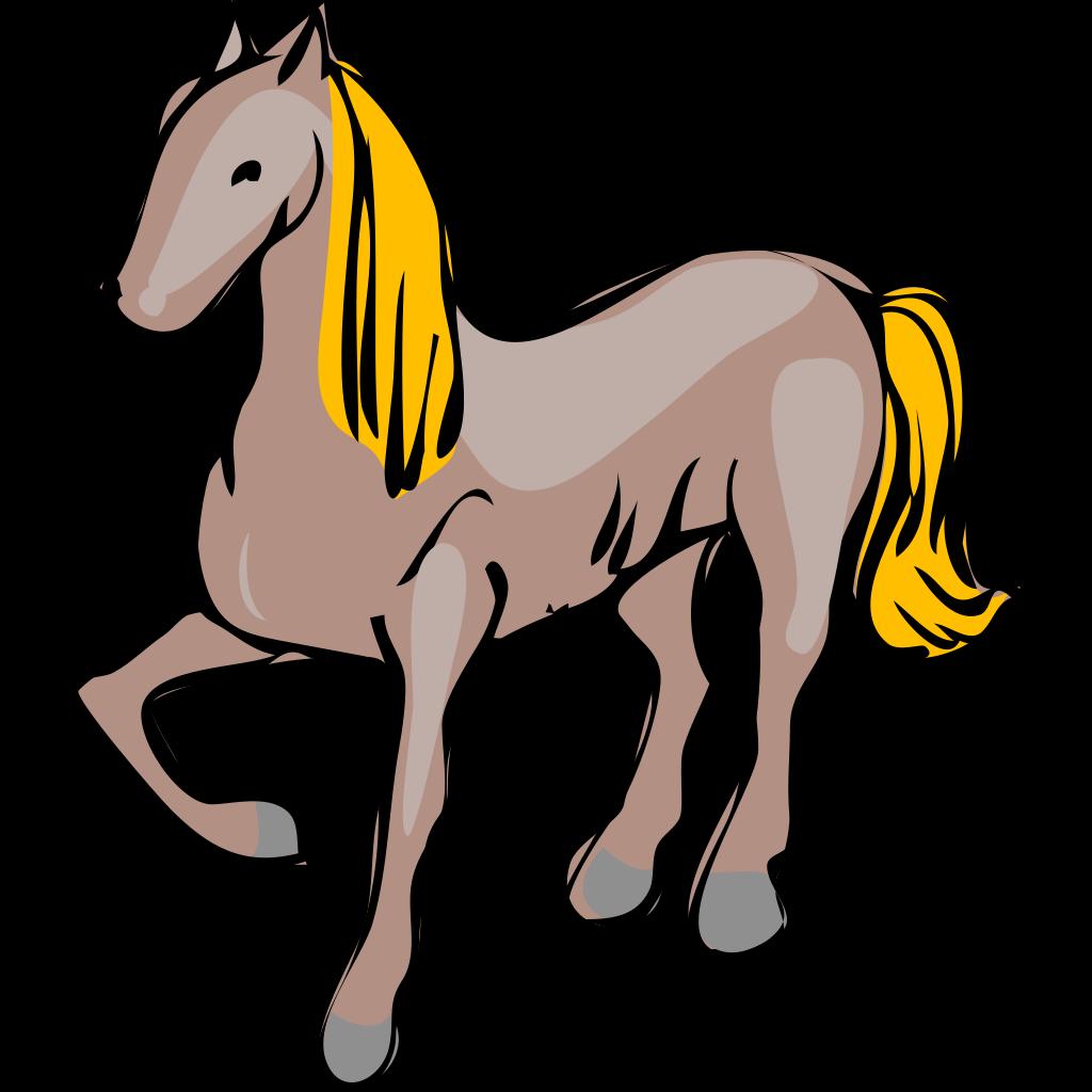 Cartoon Horse SVG Clip arts