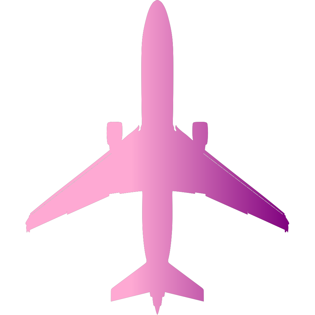 Airplane SVG Clip arts