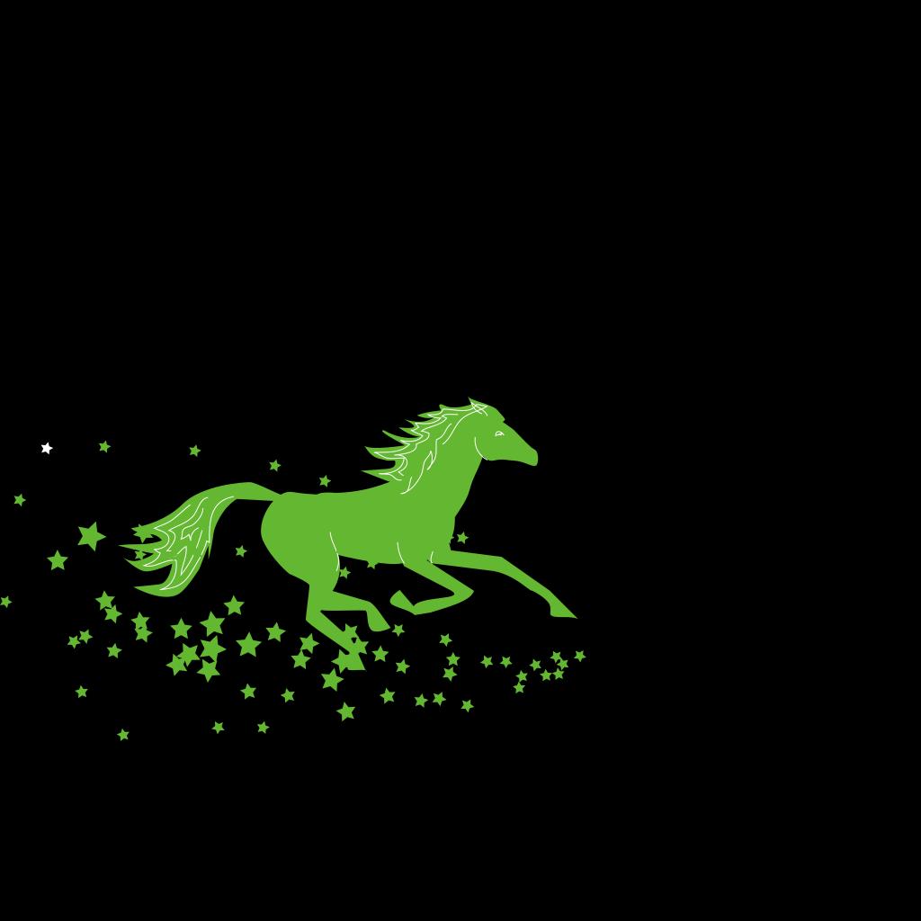 Horse#2 SVG Clip arts