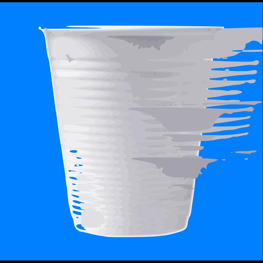Plastic Cup SVG Clip arts