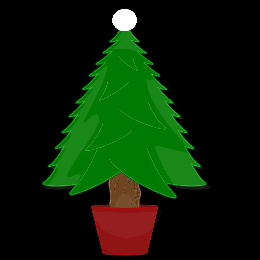 Christmas Tree Clip Art SVG Clip arts