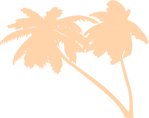 Vector Palm Trees SVG Clip arts