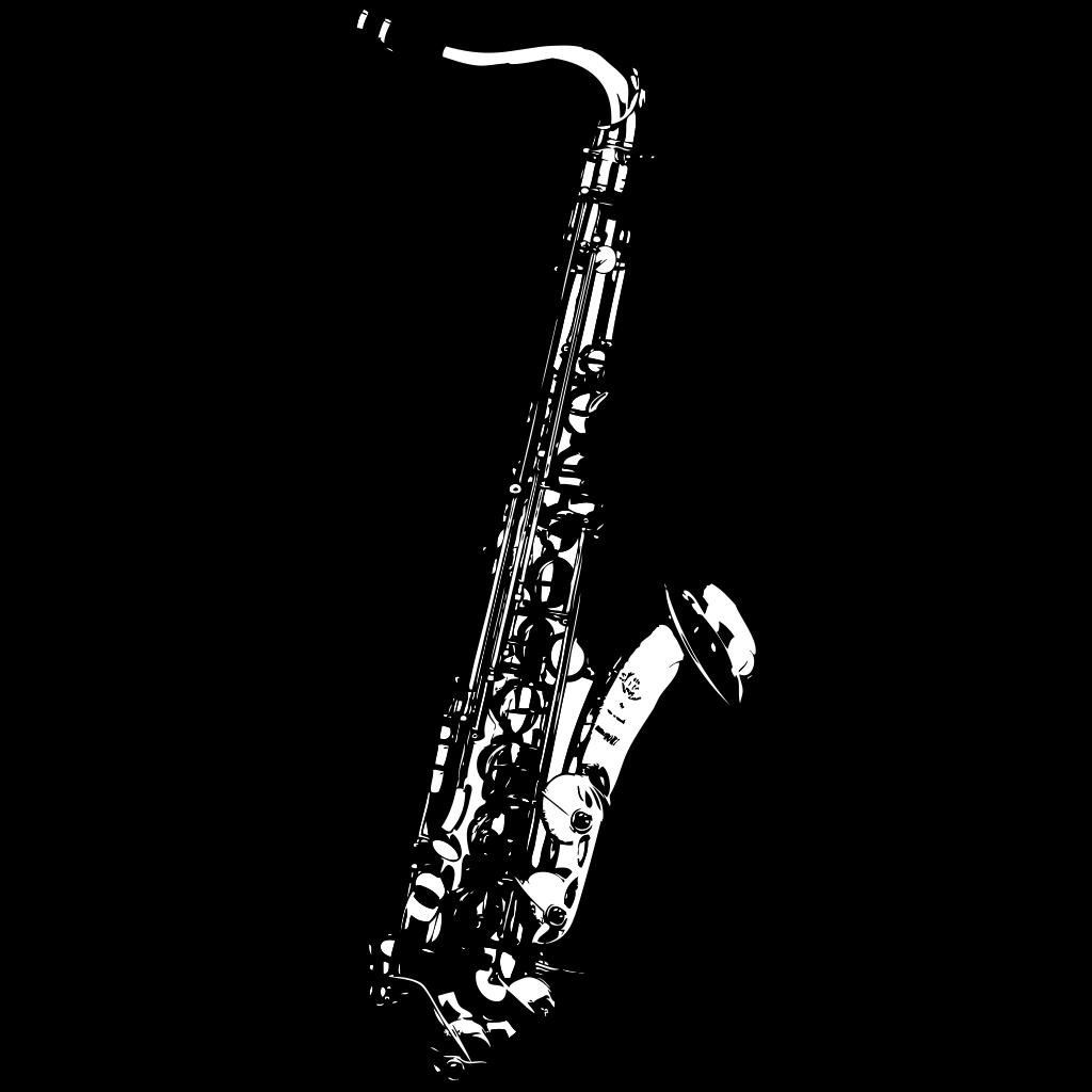 Saxophone 3 SVG Clip arts