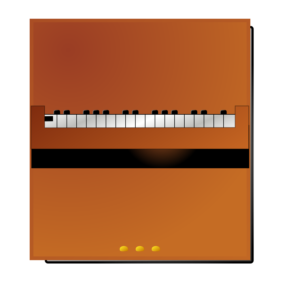 Piano Keys SVG Clip arts