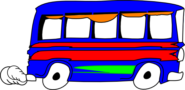Blue Bus svg