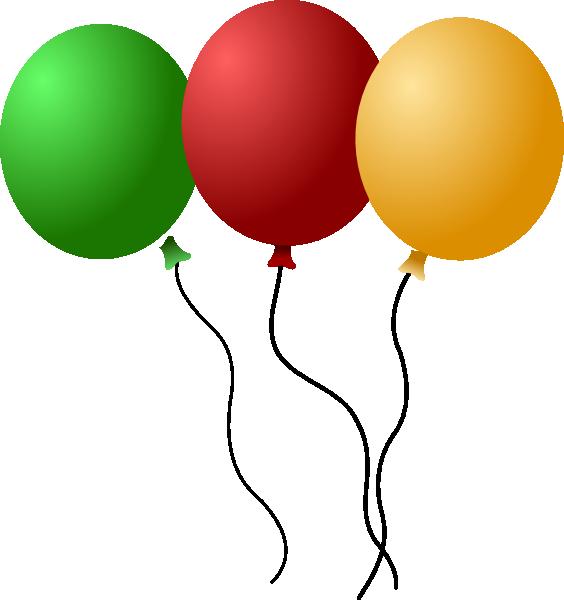 Balloons-aj SVG Clip arts