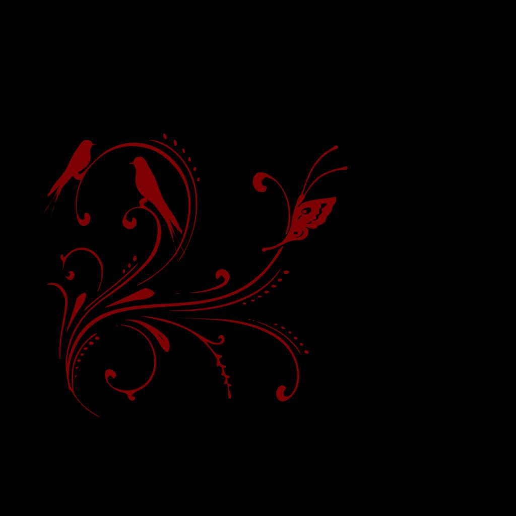 Cherry Bird SVG Clip arts