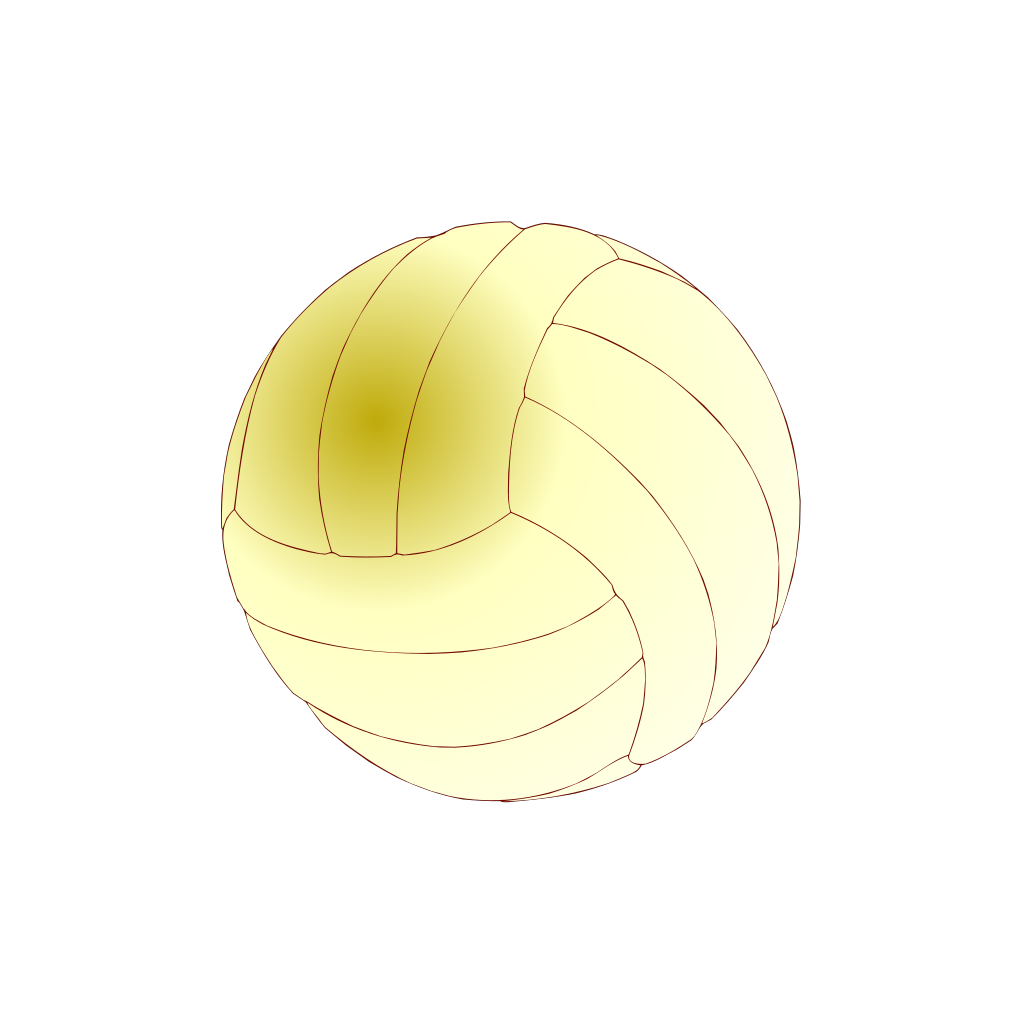Volley-ball SVG Clip arts