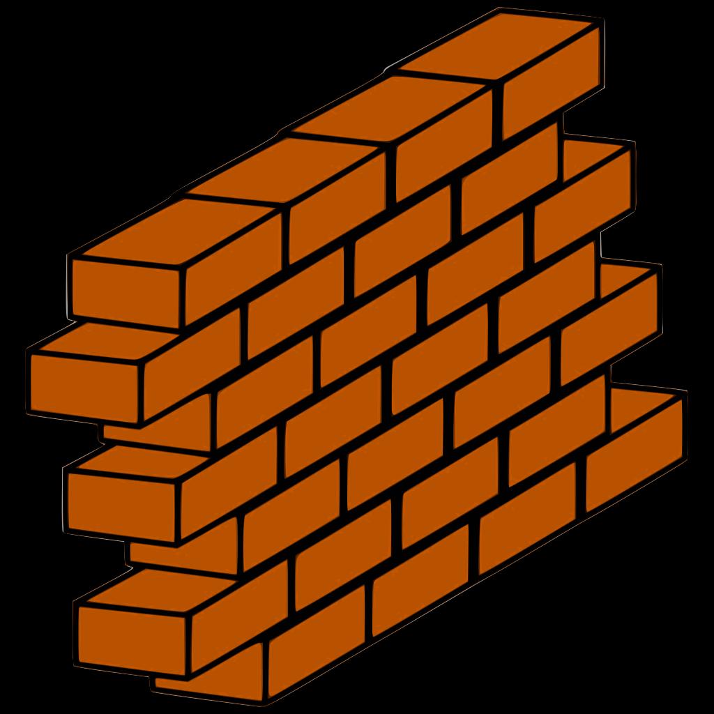 Brick Wall Texture SVG Clip arts