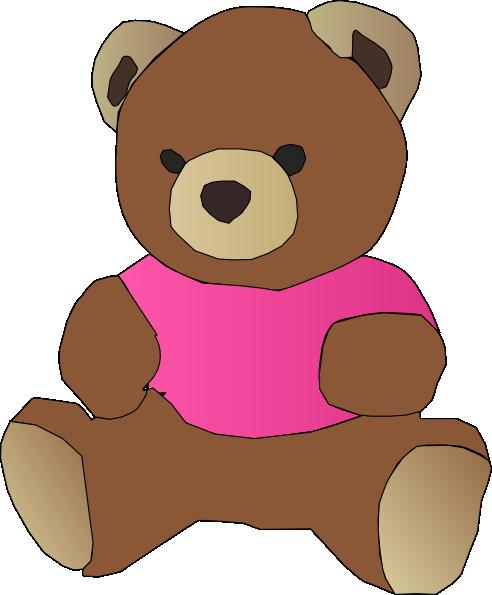 Stylized Teddy Bear SVG Clip arts
