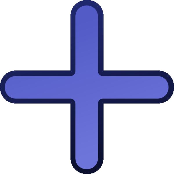 Blue Cross 2 SVG Clip arts