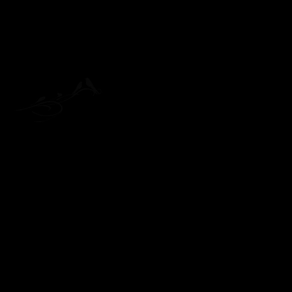 Black Birds On Branch SVG Clip arts