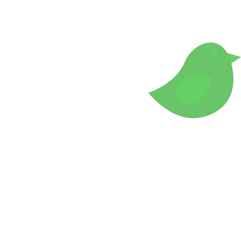 Green Bird SVG Clip arts