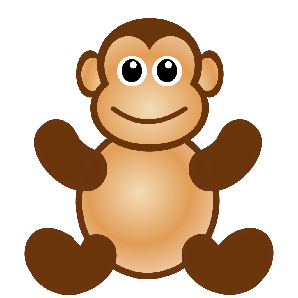 free clipart of monkey - photo #23