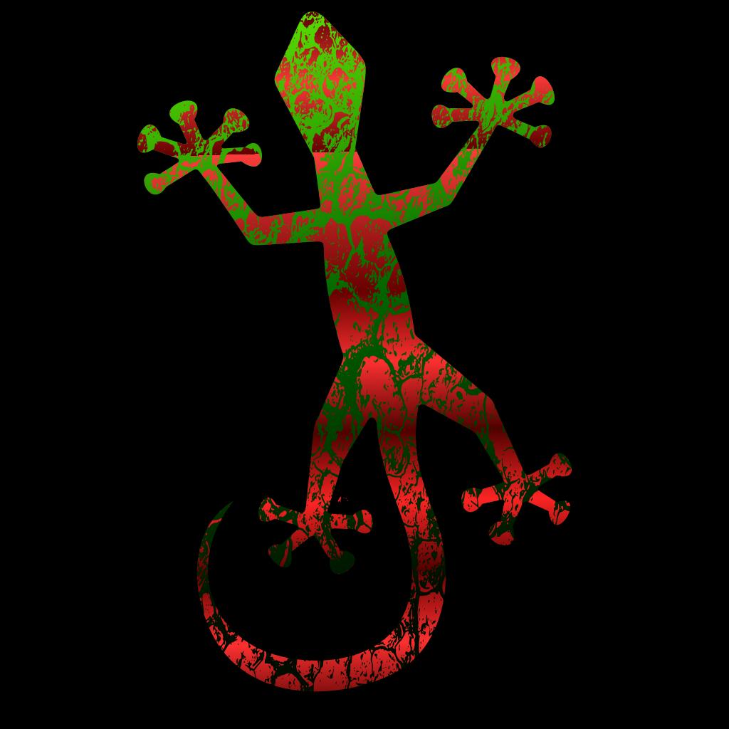 Gecko SVG Clip arts