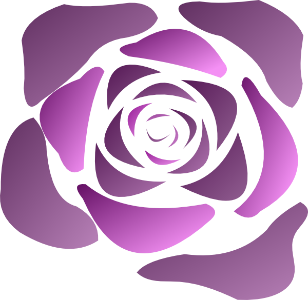 Sneptune Calligraphic Rose SVG Clip arts