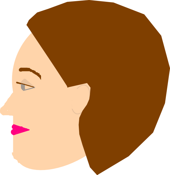 Blond Woman svg