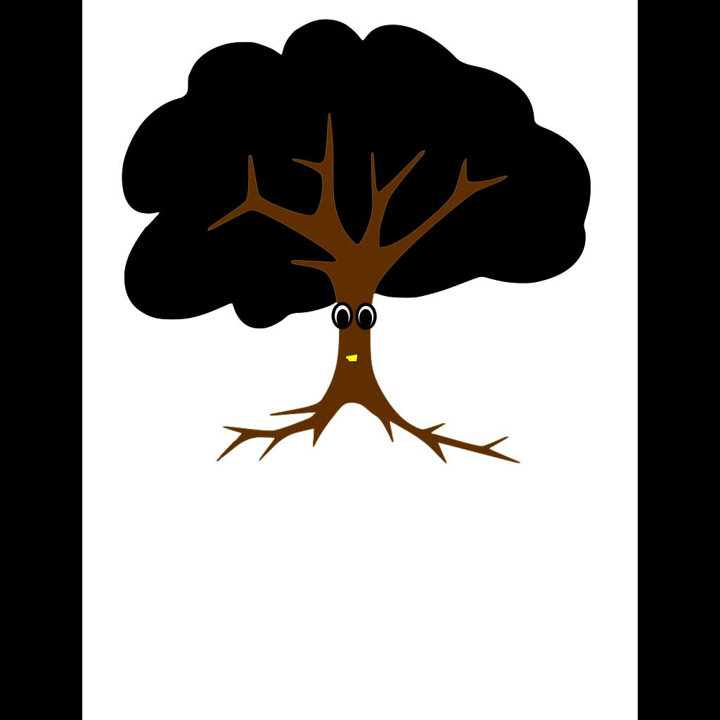Plant Tree Cartoon SVG Clip arts