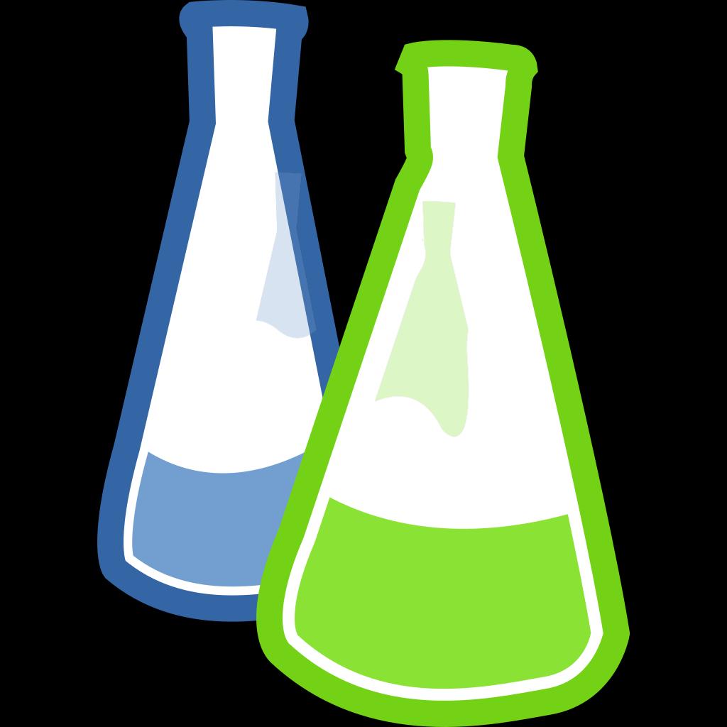 Chemistry Lab Flasks SVG Clip arts