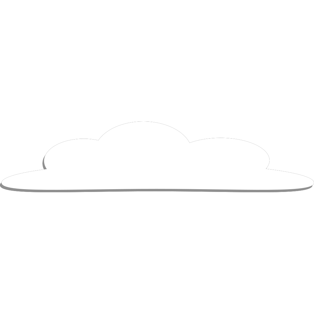 Cloud SVG Clip arts