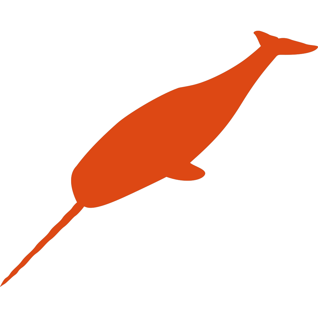 Small Narwhal SVG Clip arts