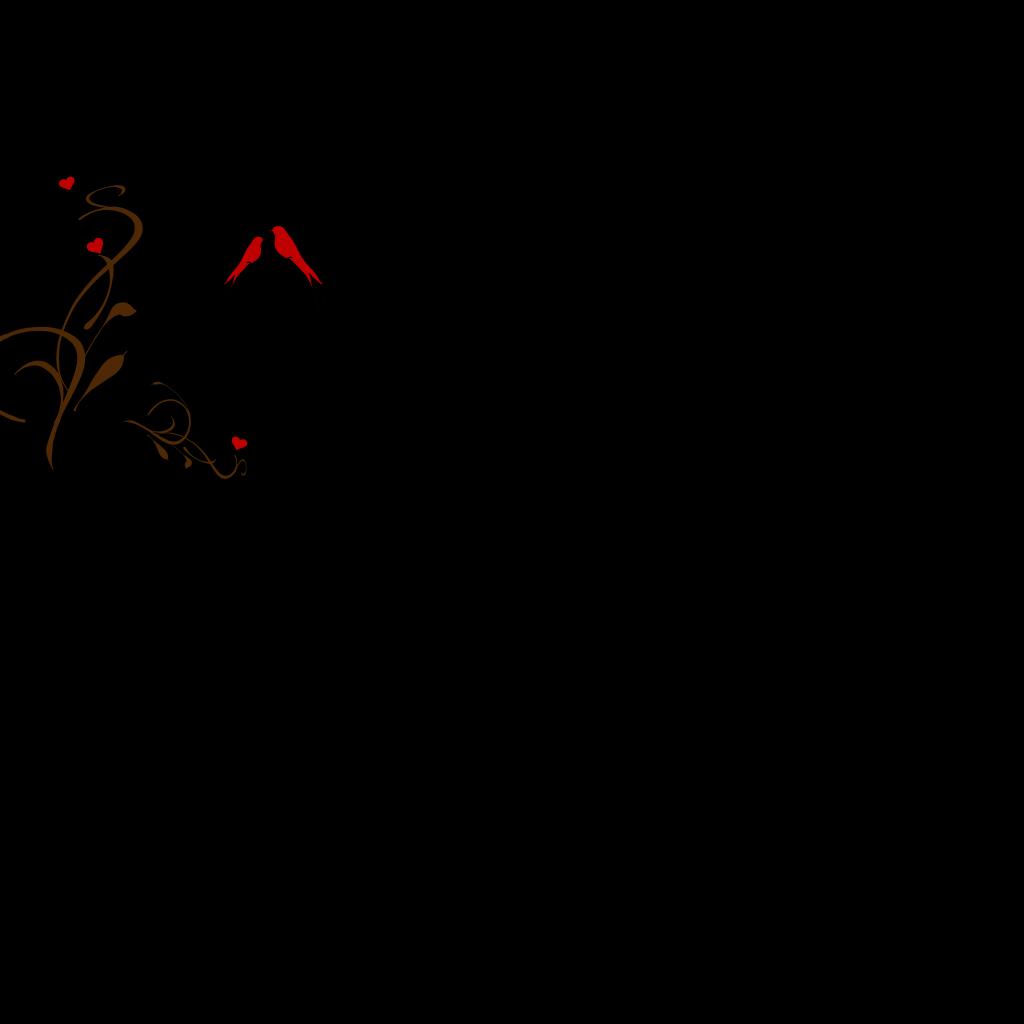 Birds On A Branch SVG Clip arts