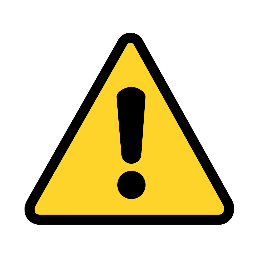Warning Icon SVG Clip arts