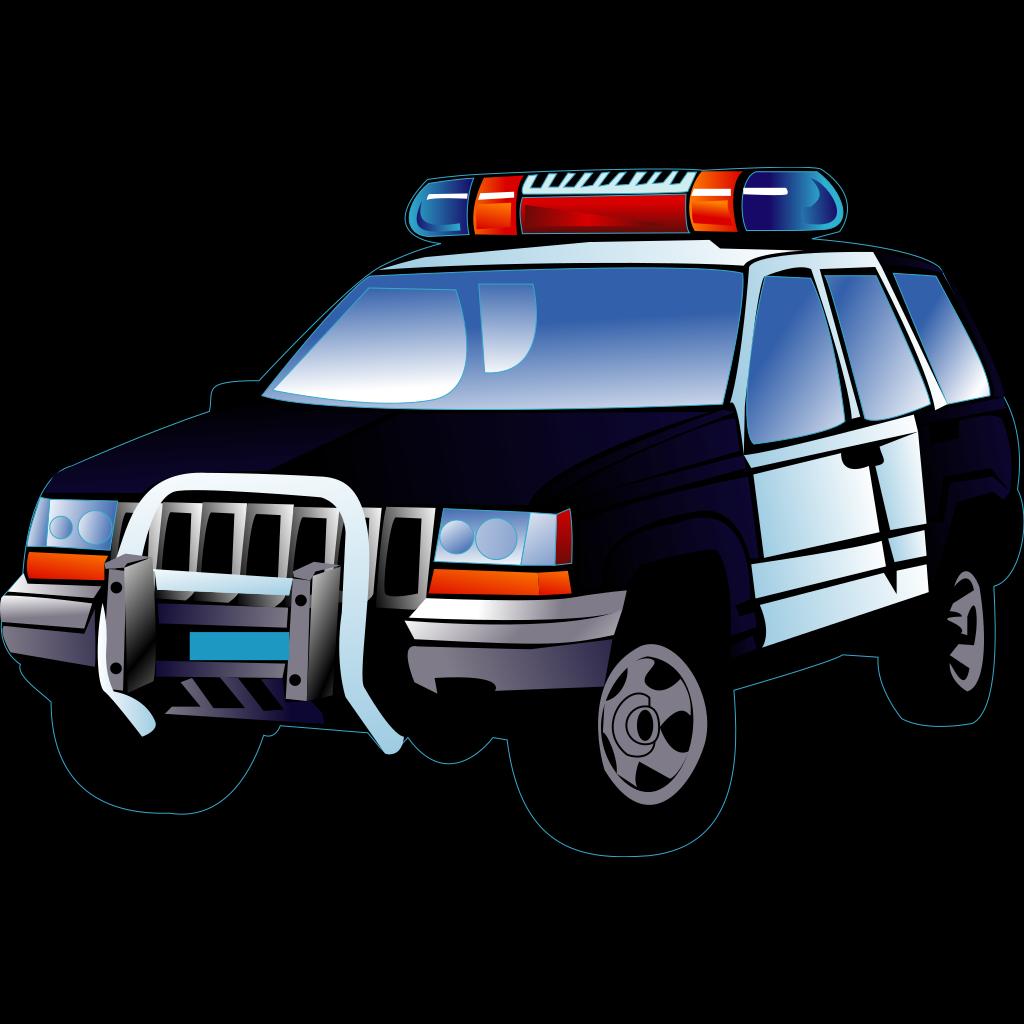 Police Car SVG Clip arts