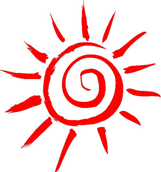 Summer Shining Sun SVG Clip arts