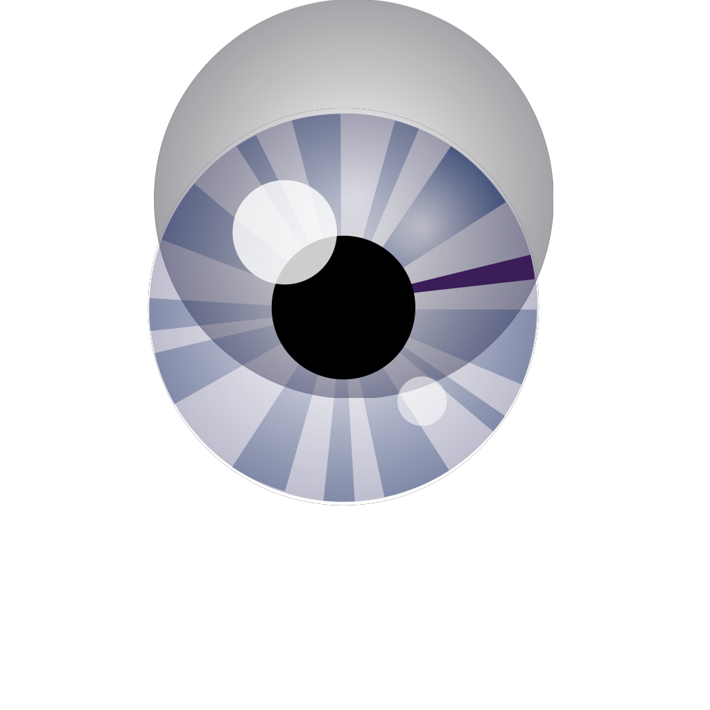 Blue Eye SVG Clip arts