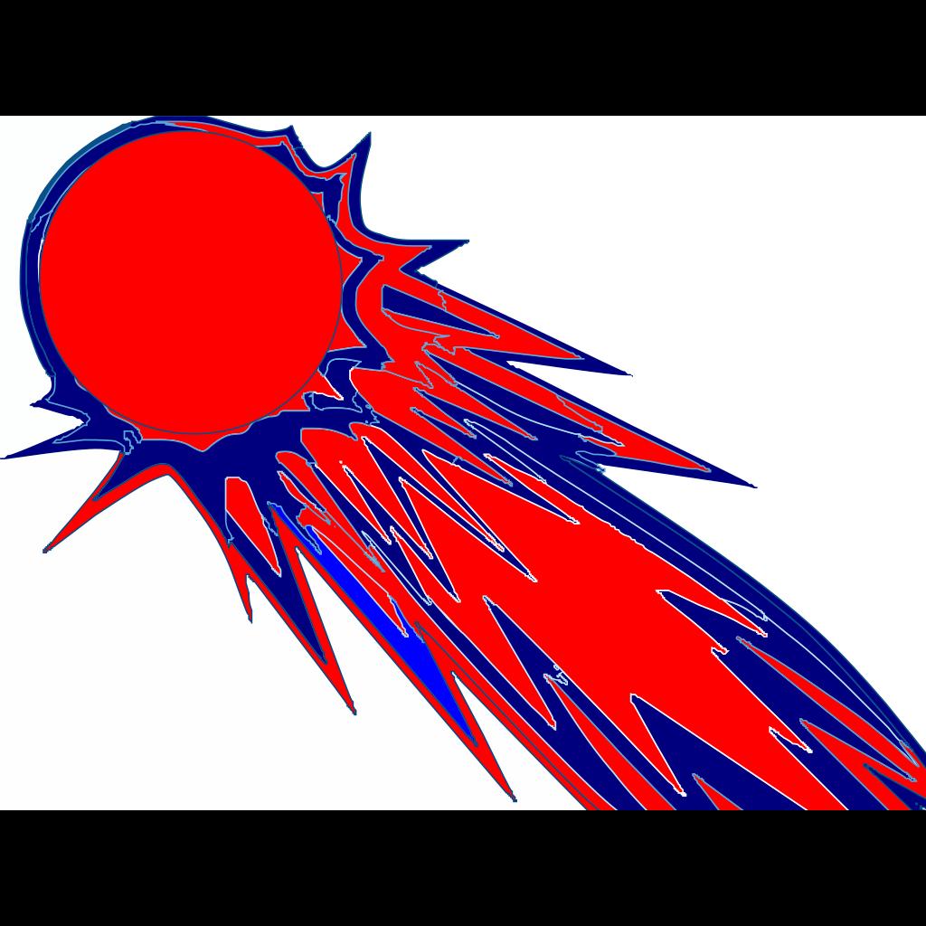 Comets SVG Clip arts