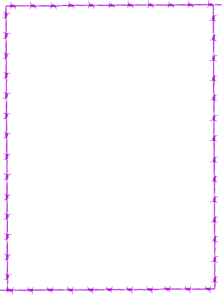 Revans Barbed Wire Border SVG Clip arts